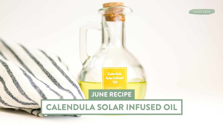 Calendula Solar-Infused Oil