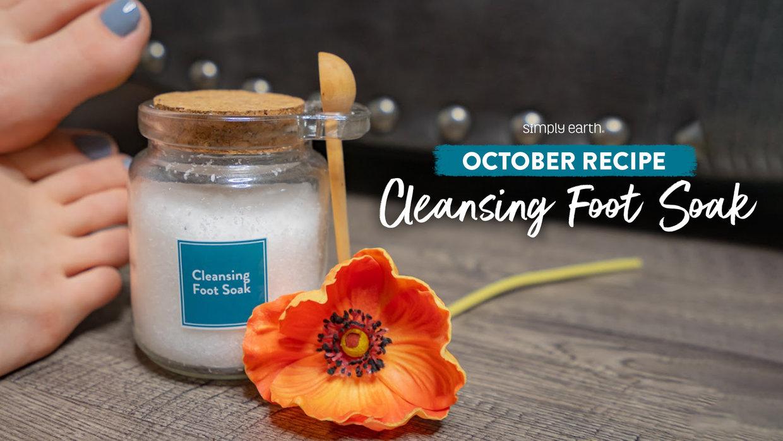 Cleansing Foot Soak