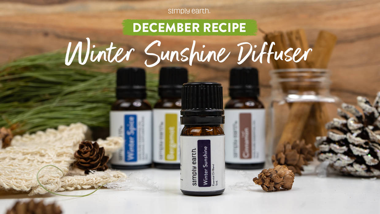 Winter Sunshine Diffuser Blend