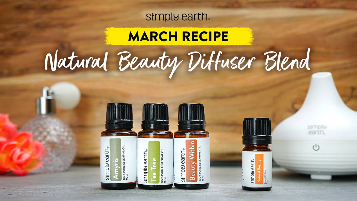 Natural Beauty Diffuser Blend