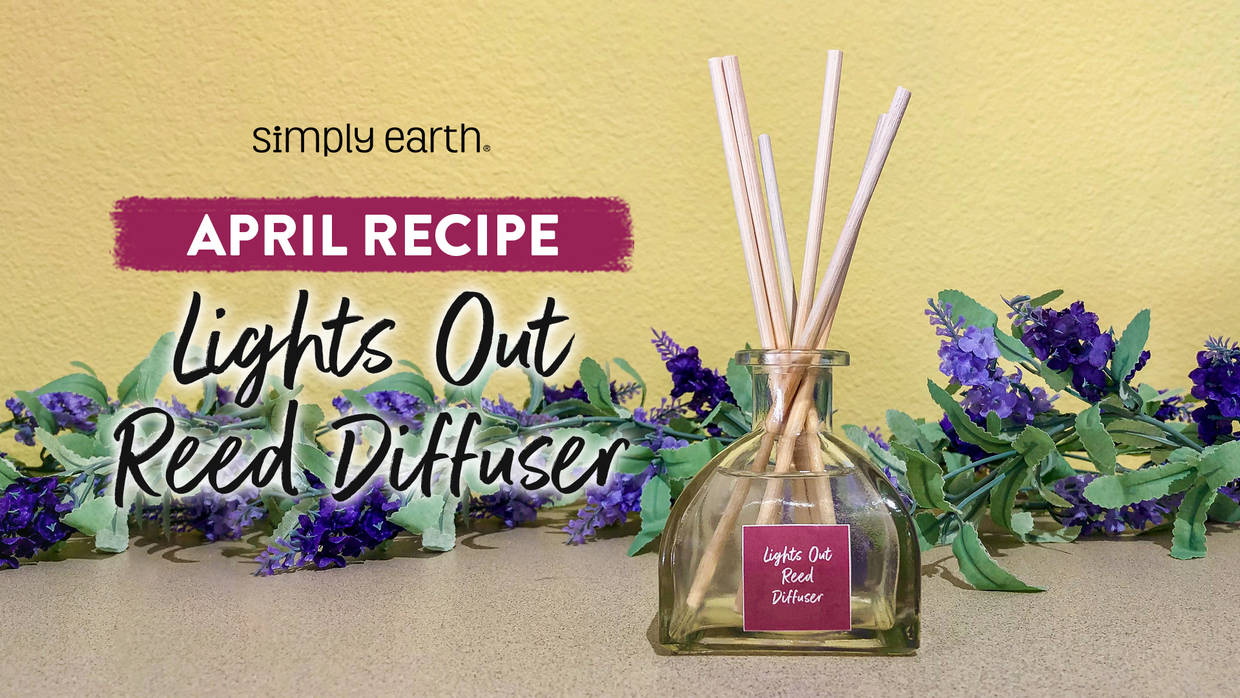 Lights Out Reed Diffuser