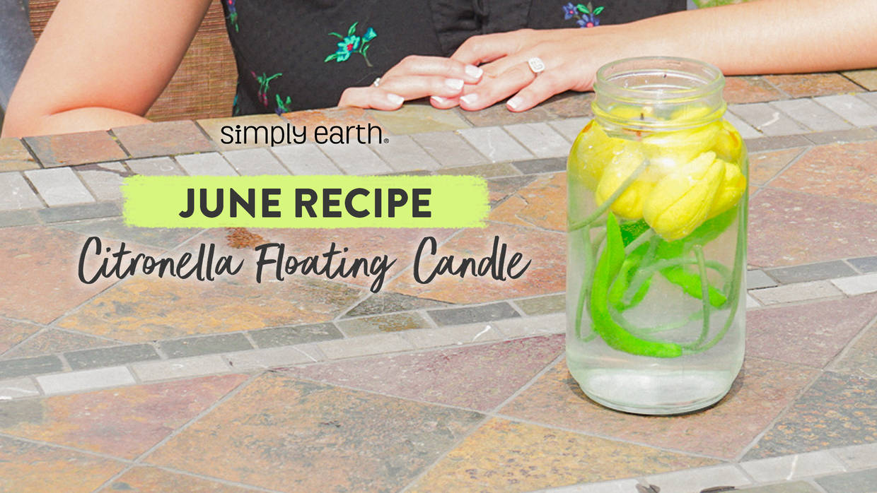 Citronella Floating Candle