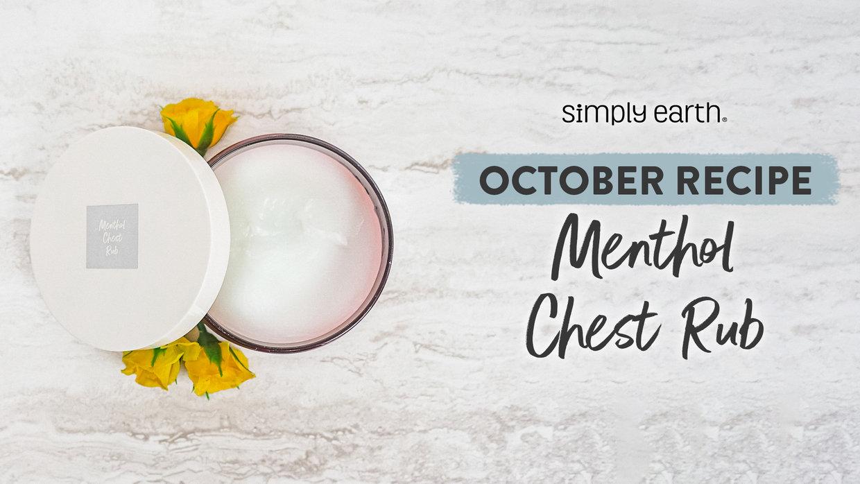 Menthol Chest Rub